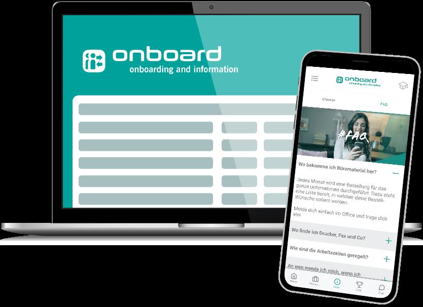 Mobile Onboarding-App